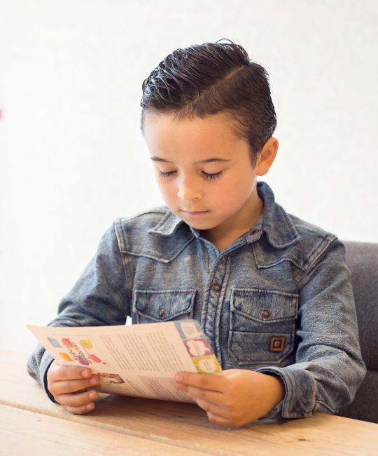 Dyslexie bij een jongen