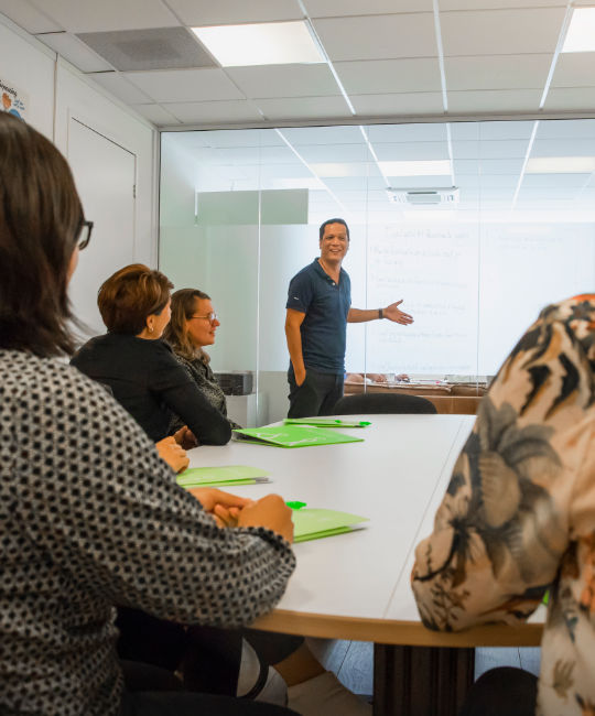 Onderwijsadvies sessie aan leerkrachten